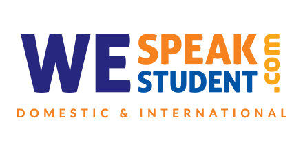 We Speak Student Logo